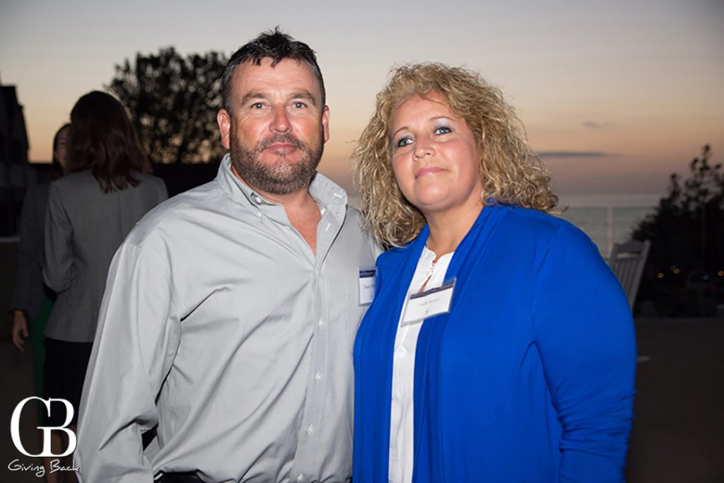 Danny Davidson and Gabi Rivers