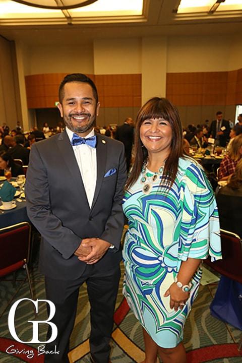 Danny Melgoza and Ana Melgoza