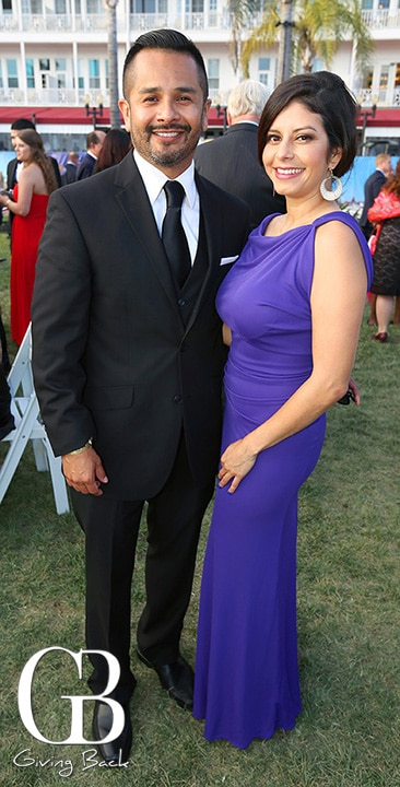 Danny Melgoza and Monica Guzman
