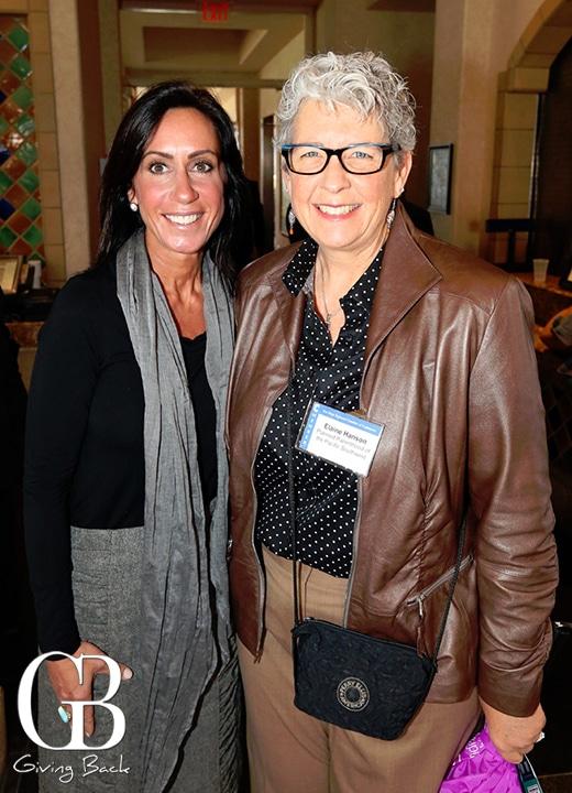 Darrah Johnson and Elaine Hanson