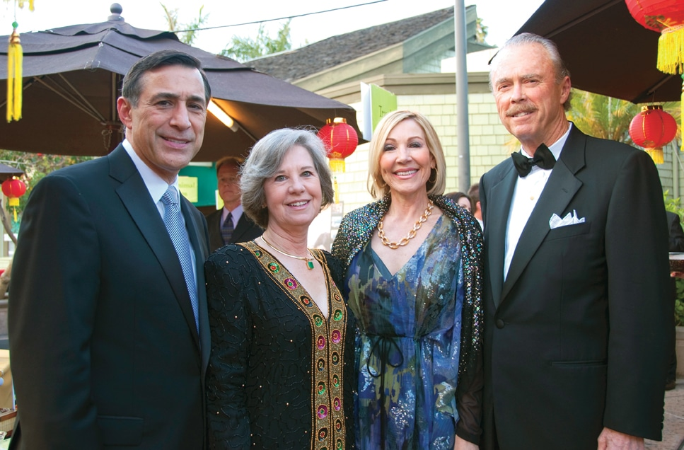 Darrell and Kathy Issa with Linda and Don Swortwood