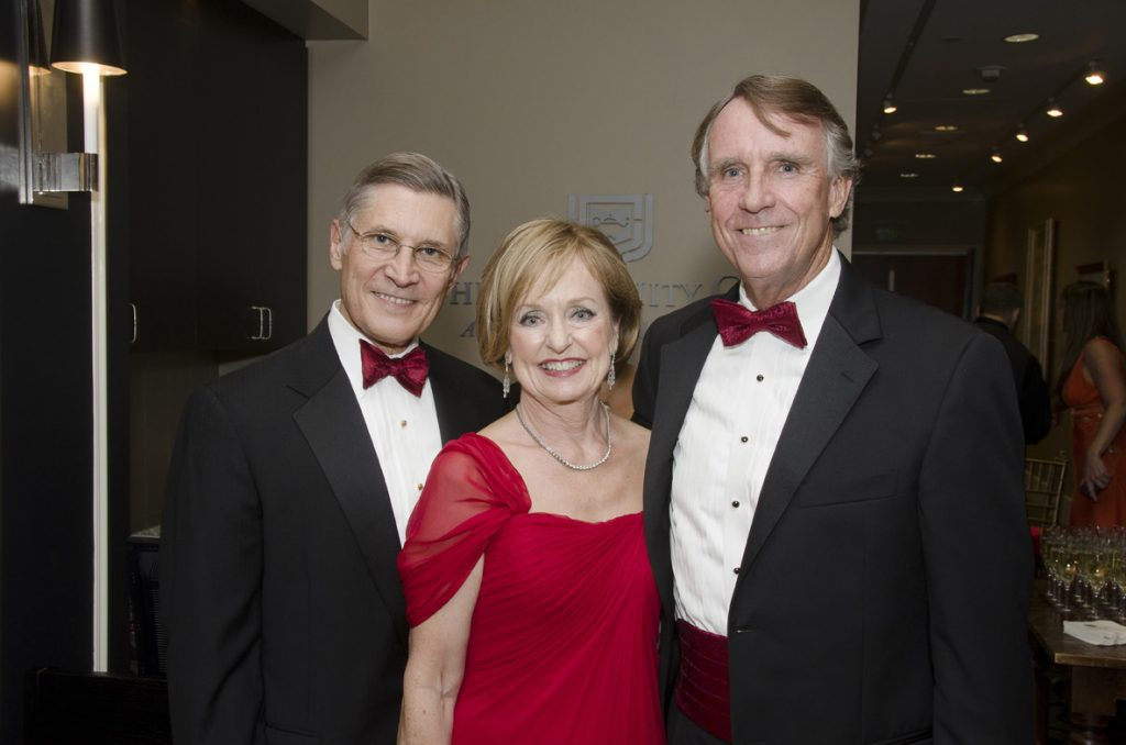Dave and Phyllis Snyder with Mitch Woodbury