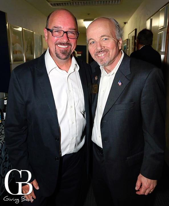 Dave Dressler and Clint Howard