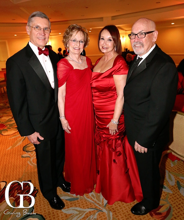 Dave and Phyllis Snyder with Clarice and Bill Perkins