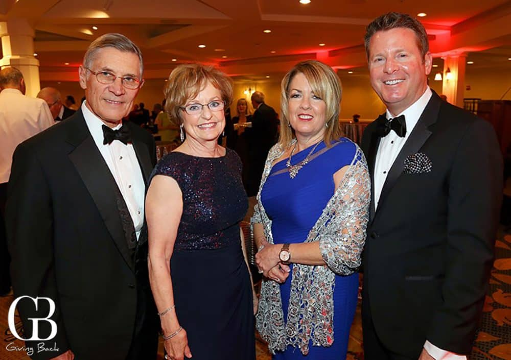 Dave and Phyllis Snyder with Susan and Paul Hering