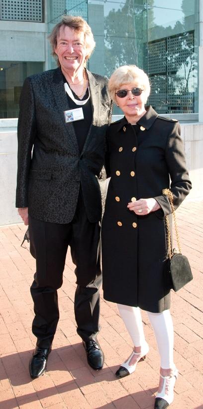 David Copley and Audrey Geisel