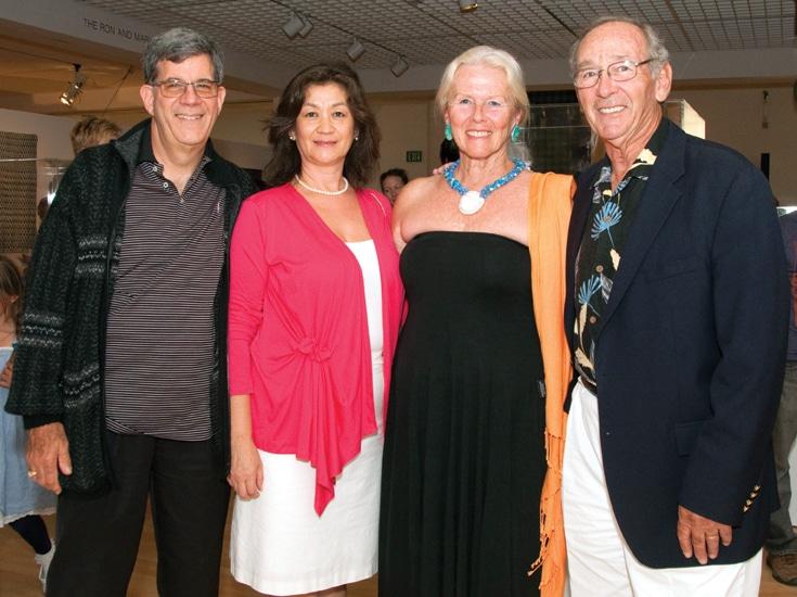 David Finkelstein and Theresa Yui with Doris and Jim Besikof.JPG