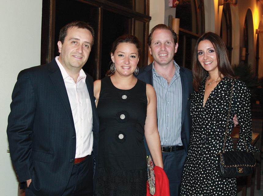 David Sanchez and Adriana Obregon with Peter and Marla Ariza.JPG