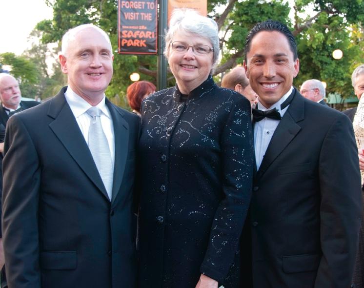 David Watson, Christine Kehoe and Todd Gloria