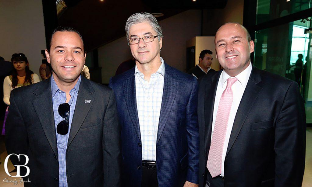 David Ariaga  Gabriel Salinas y  Gerardo Cosio