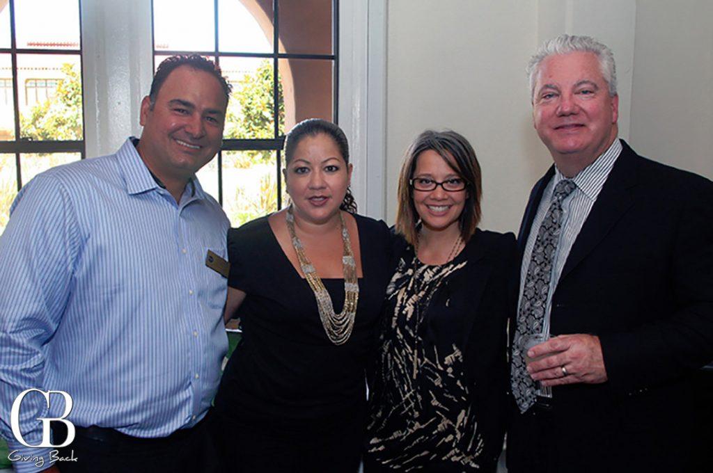 David Gonzalez   Monica Montano   Zaneta Encarnacion and Scott Parker