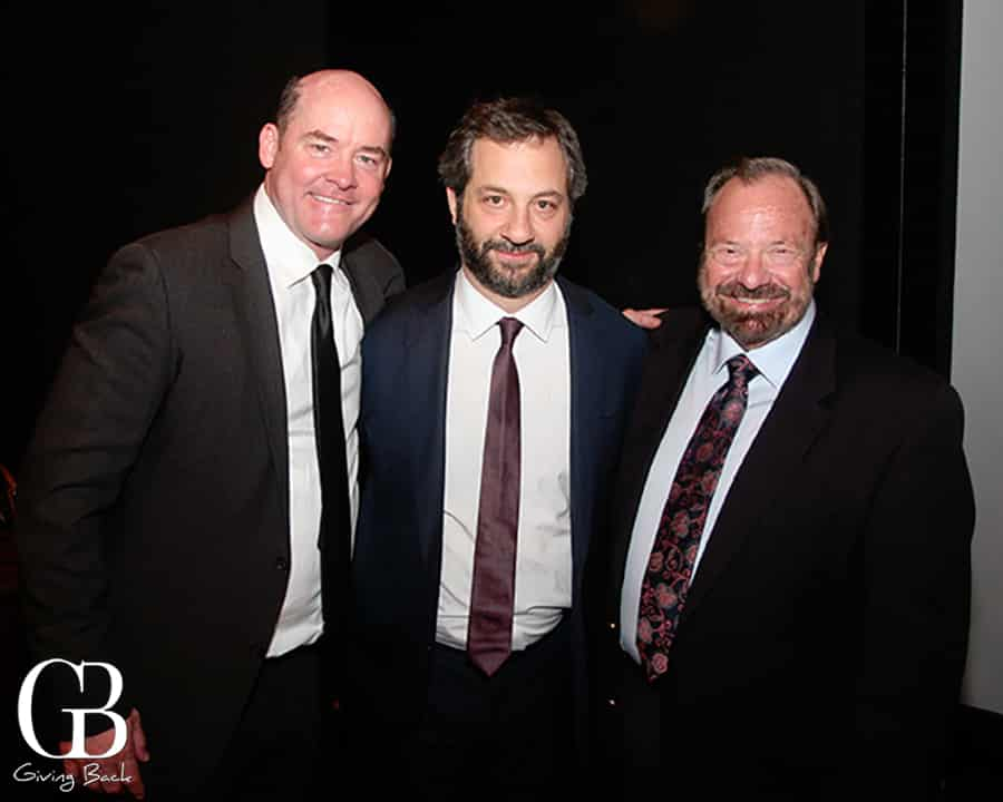 David Koechner  Judd Apatow and Dale Strack