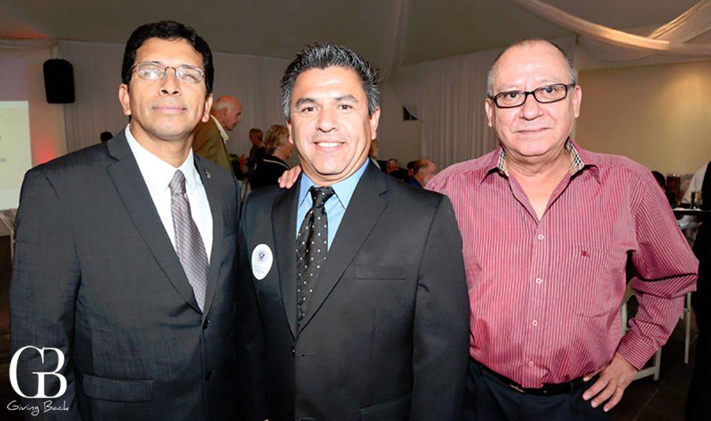 David Ledesma  Raul Gonzalez y Gustavo Camarena