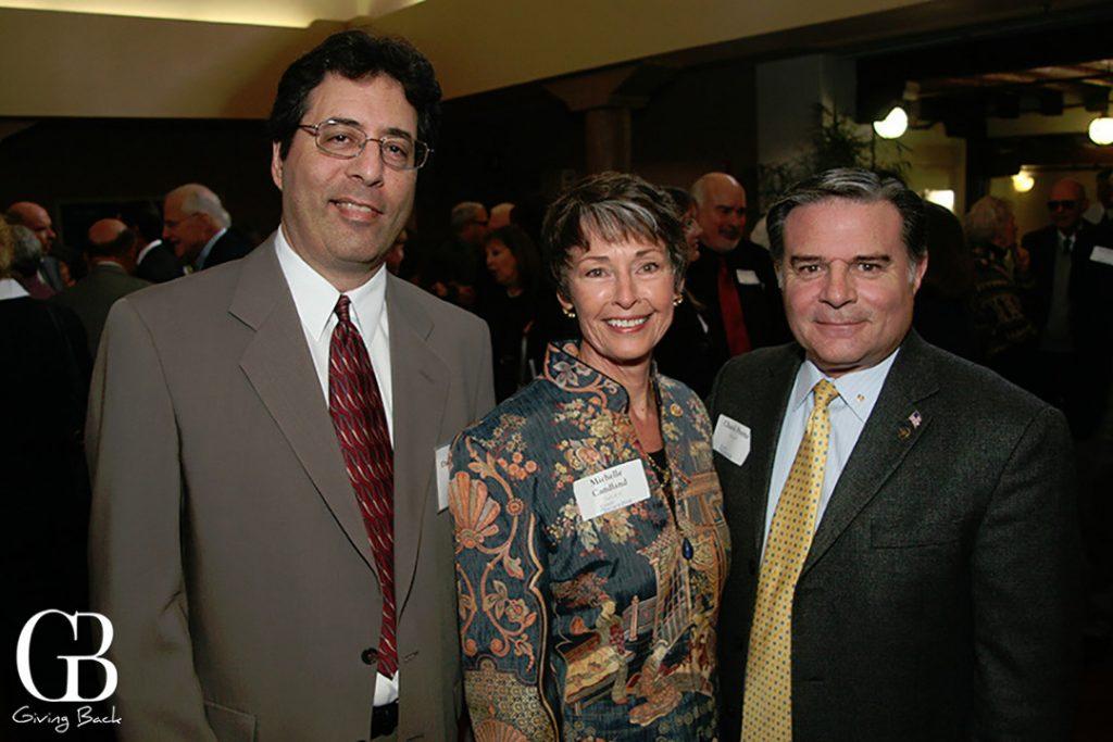 David Marshall  Michelle Candland and Chuck Pretto