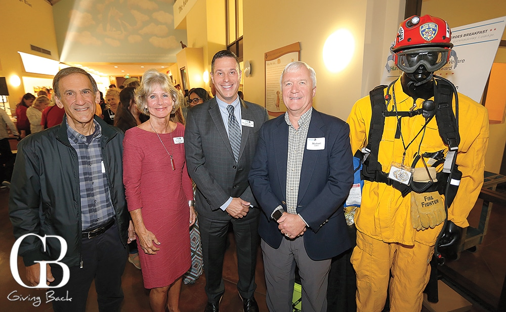 David Mittleman  Tori Zwisler  Gary Weitzman and Michael Lewis with animal rescue