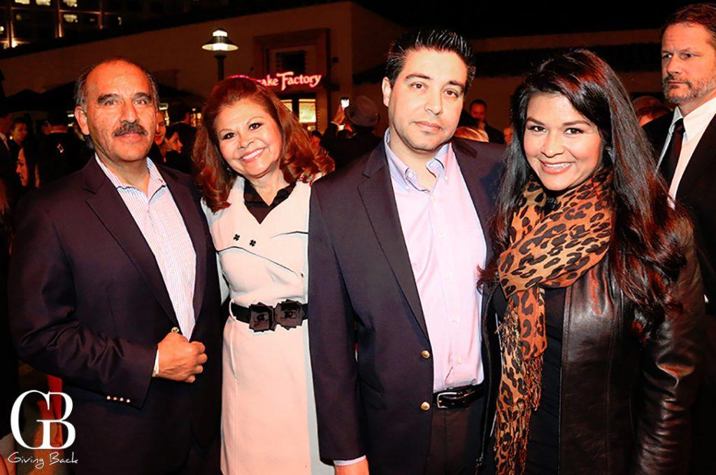 David and Espy Bejarano with Marco Torres and Marissa Bejarano