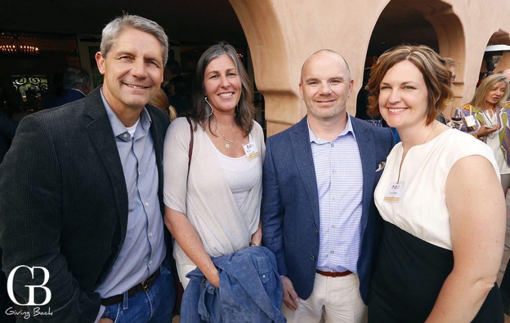 David and Heidi Waitley with Gabe and Erynn Filkey