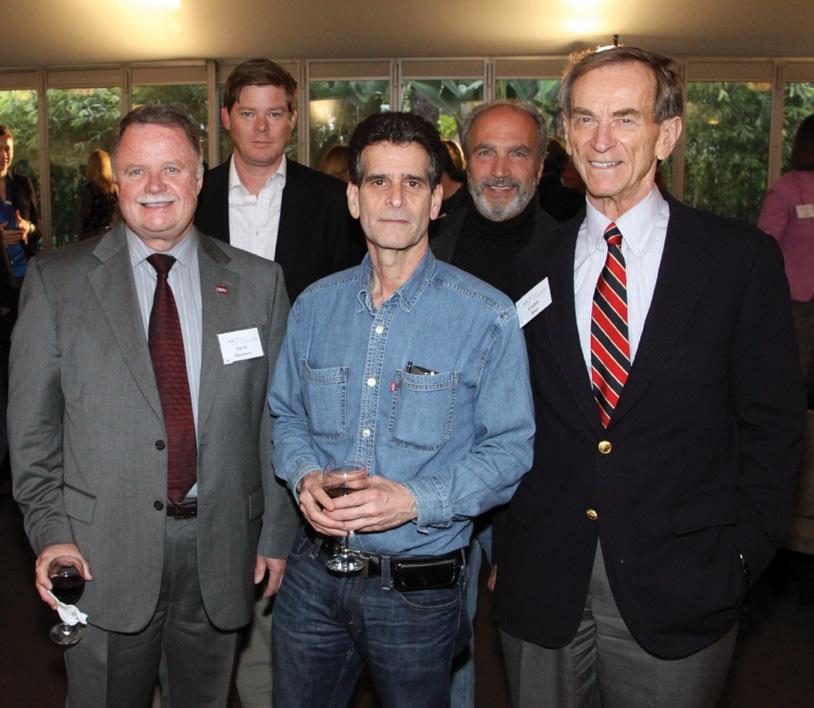 Dean Kamen and Linden Blue amongst colleagues.JPG