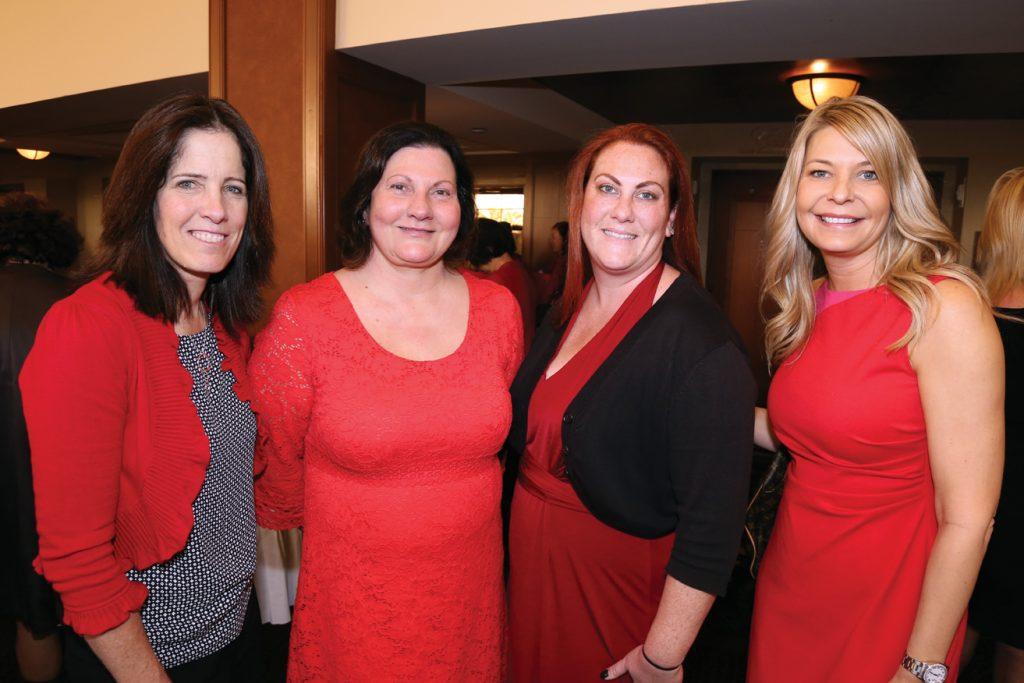 Debbie King, Lori Barter, Jennifer Barter and Melissa Wilimas.JPG