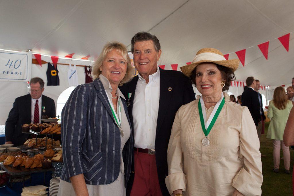 Debbie and Ralph Richey with Karen Clotfelter