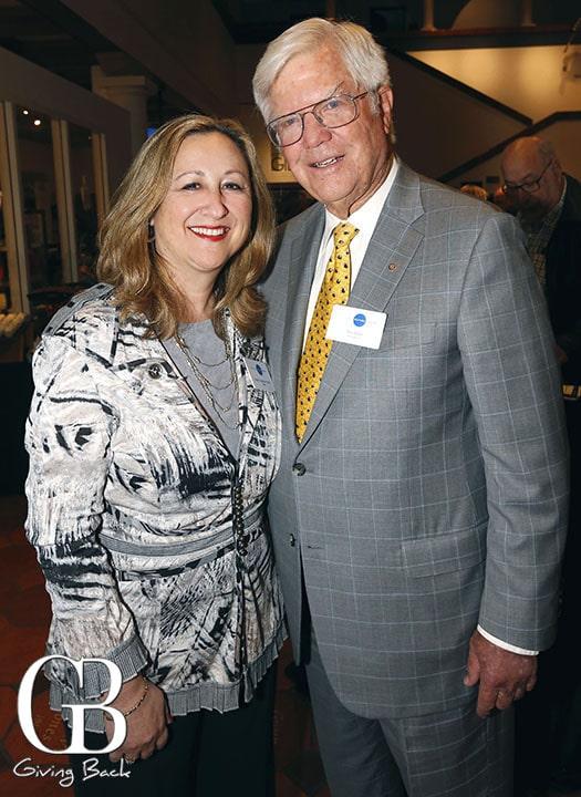 Debbie Cushman Parrish and Tom Fetter