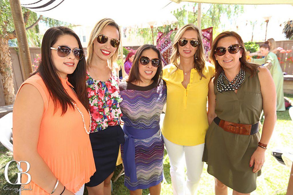 Debbie Saul  Libby Levine  Beatriz Chaires  Tanya Clemesha y Tanya Moel