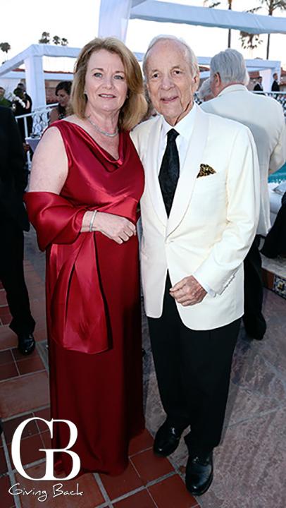 Debbie Turner and Conrad Prebys