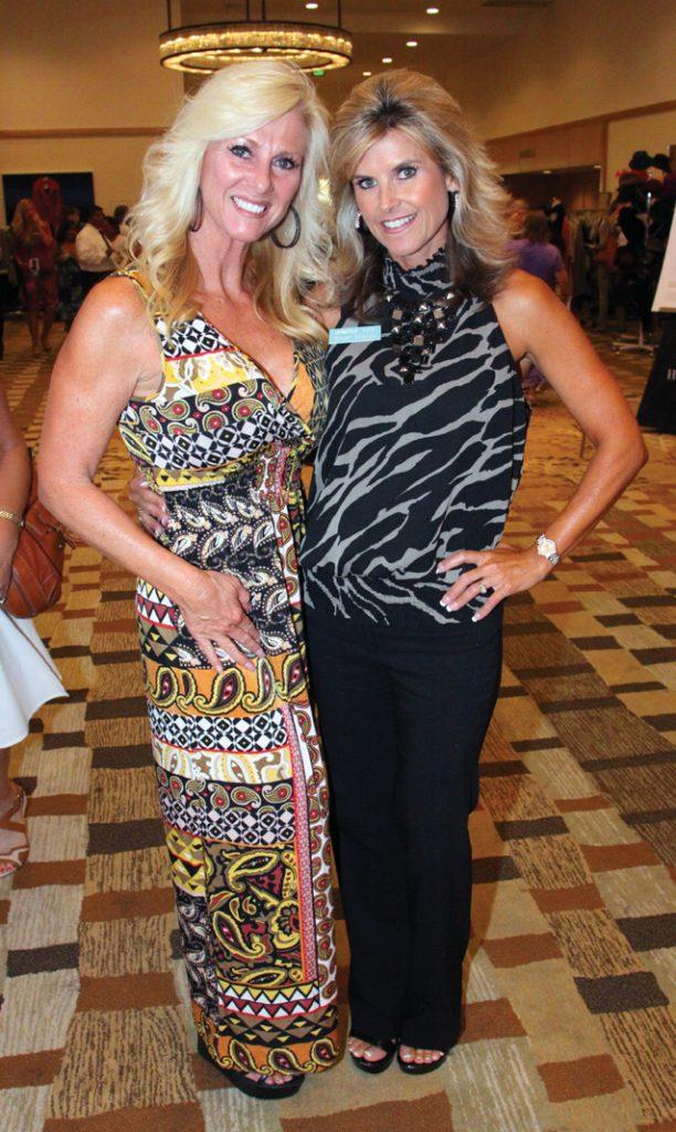 Deborah Diffenbaugh and Ginger Stacey.JPG