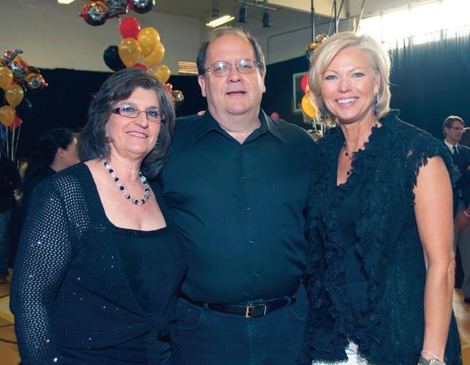 Deborah and Rolf Ehlers with Andra Marino