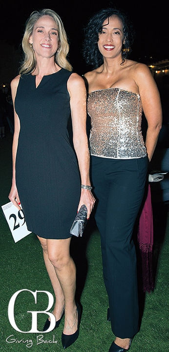 Deborah Linggi and Michele Richardson