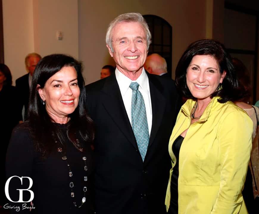 Deborah Marengo with Robert and Jena Joyce