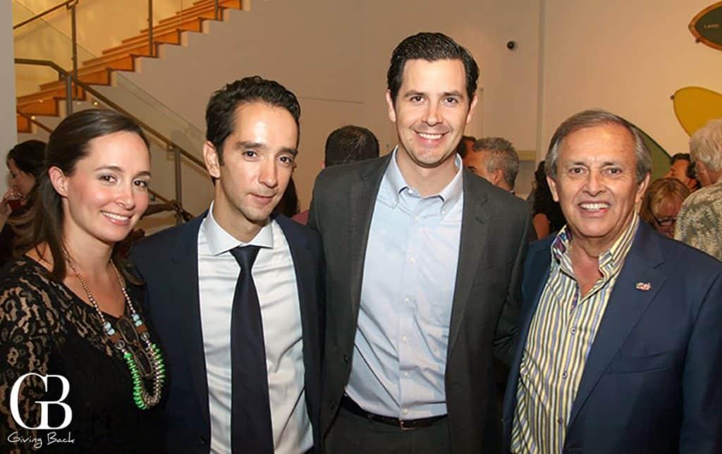 Deborah Sanchez Mujica  Bosco Lujan  Claudio Robertson and Jose Antonio Gonzalez