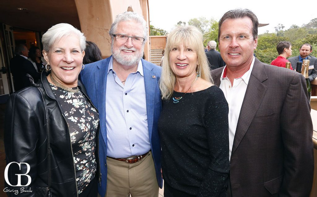 Deborah and Les Cross with Marcy and John Cavanaugh