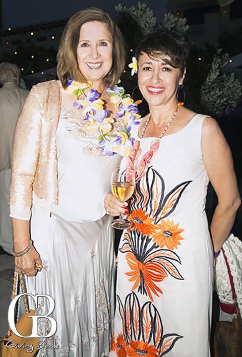 Debra McGinty Poteet and Coco Gonzalez