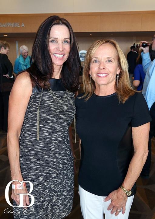 Debra Sacks and Linda Bolton Rodas