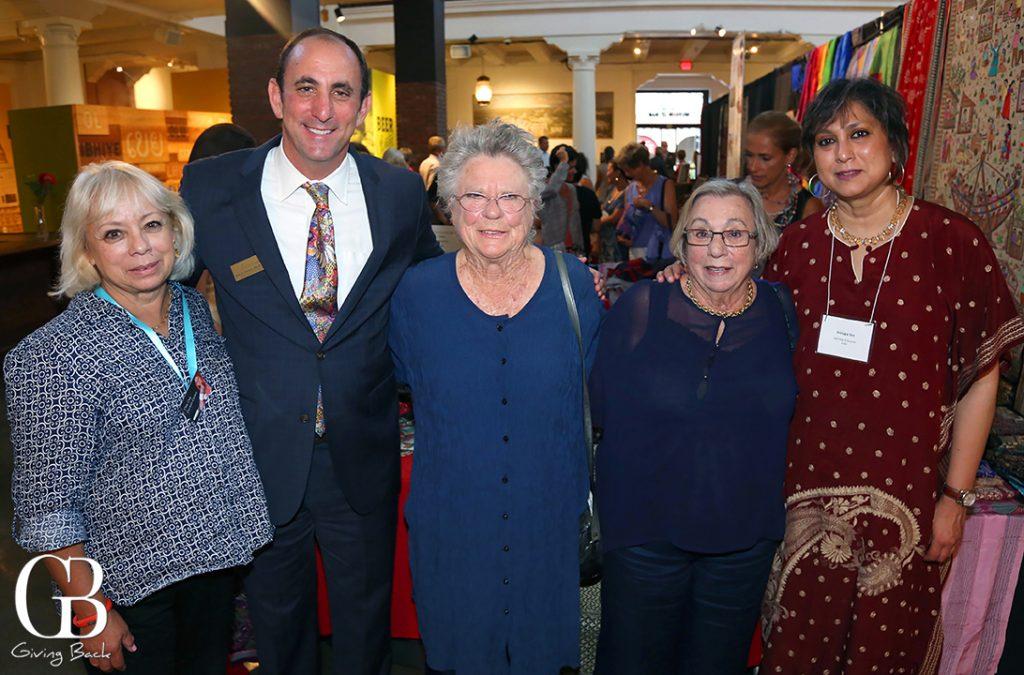 DeeDee Castro  Micah Parzen  Betty Beyster  Judy Parzen and Srirupa Sen