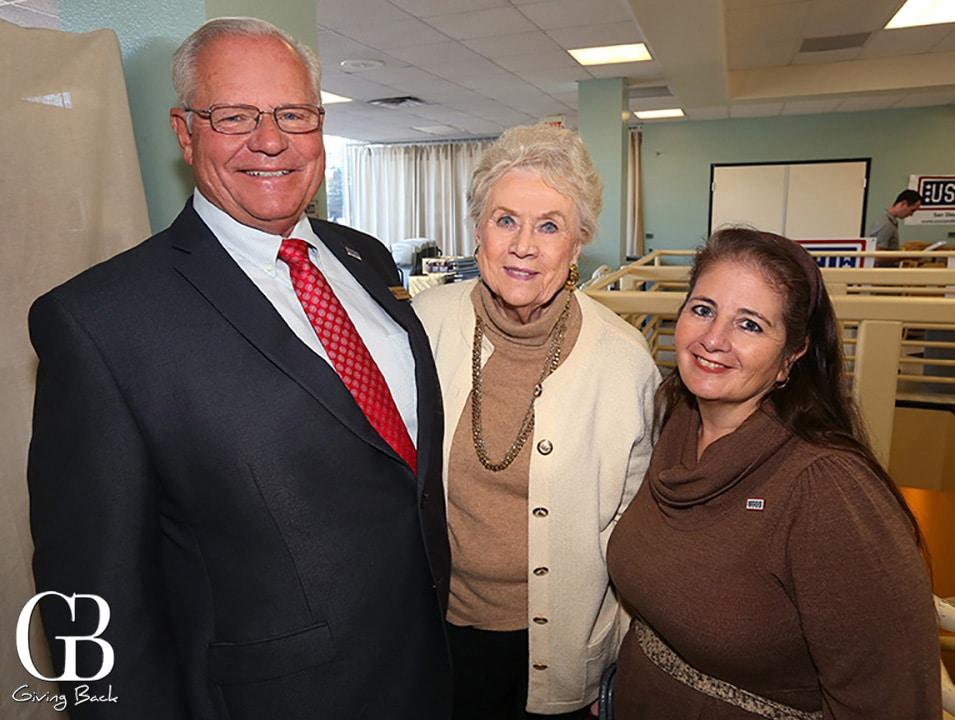 Del Stevens  Fern Murphy and Lorraine Richards