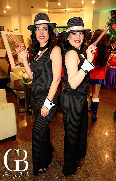 Denise Hamel y Lailani Encinas