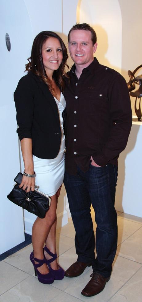 Diana Tellechea and Trevor Potter