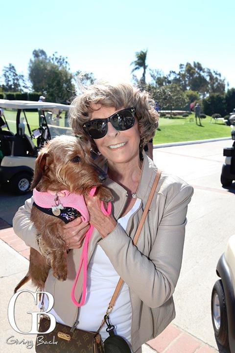 Diana Stone with Rosie