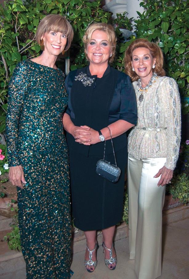 Diane Cox, Mechelle Lerach and Reena Horowitz +