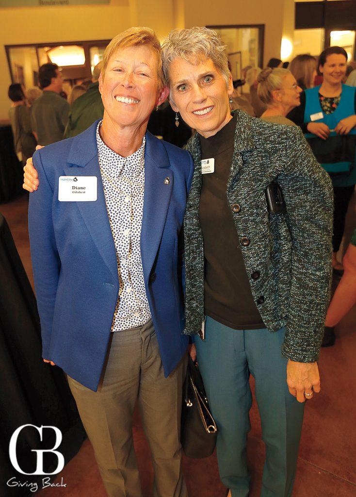 Diane Gilabert and Elizabeth Pecsi