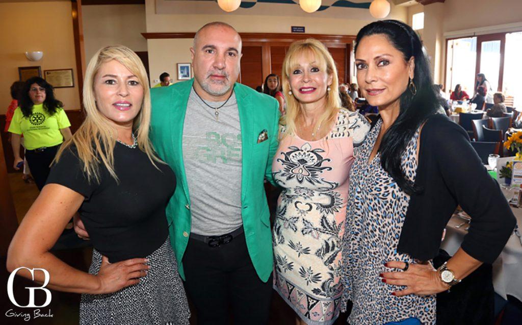 Diane Ruiz  Ignacio Alvarez  Laura Applegate y  Maria Badin