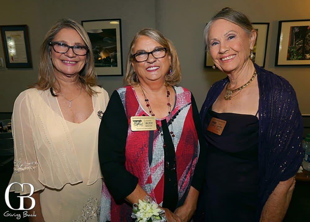 Diane Sutherland  Barbara Myers Curtis and Janet Westling