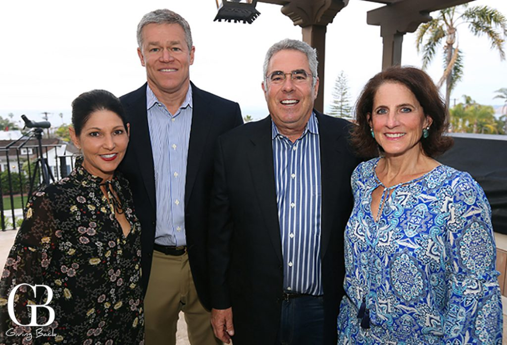 Diane and David Archambeau with Bob and Sheryl Scarano