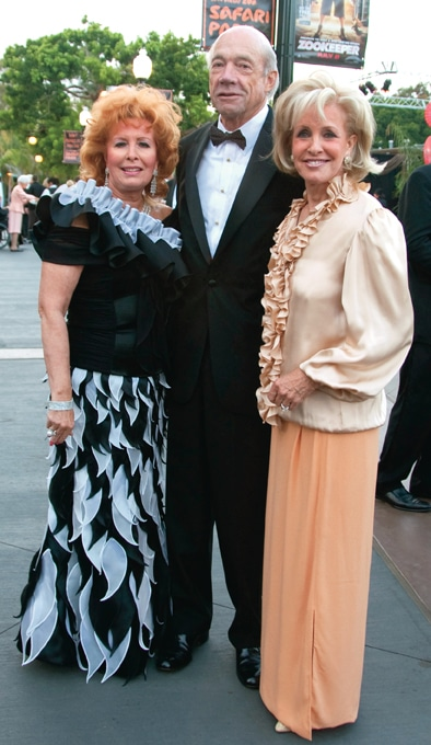 Dianne Bashor with Bob and Donna  Allan