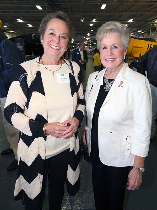 Dianne Grafton and Pam Kelly