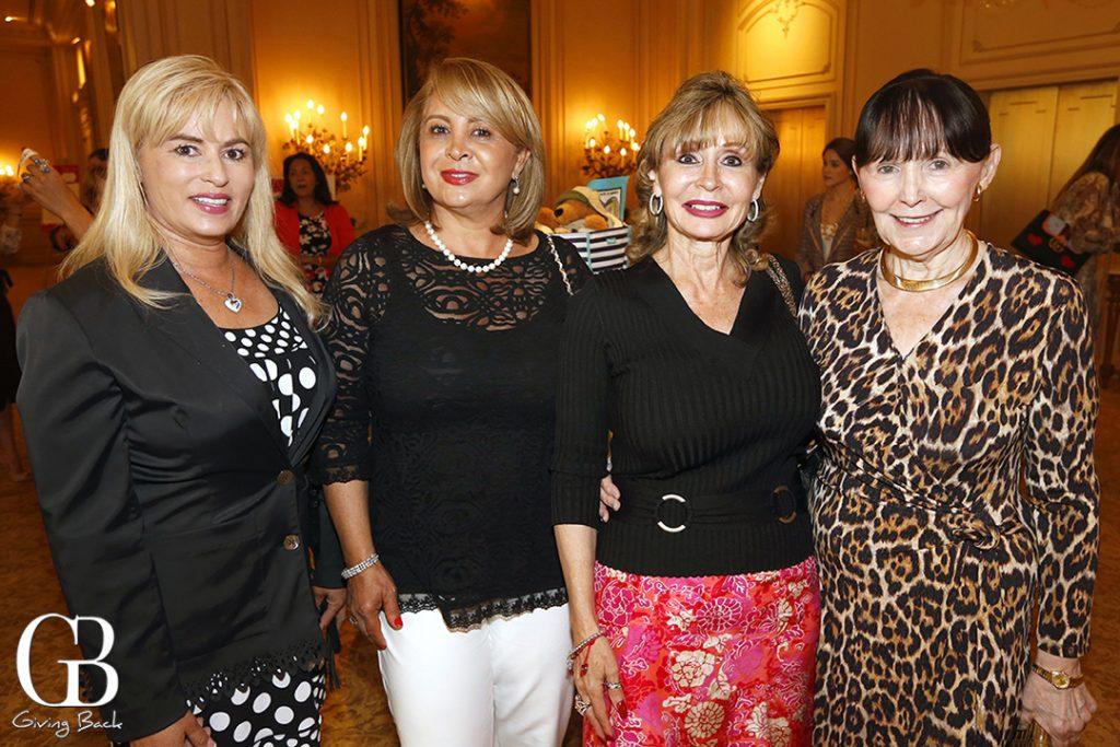 Dianne Ruiz  Anahita Merati  Laura Applegate and Charlotte Rand