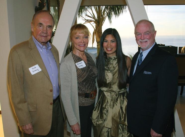 Dick and Barbara Enberg with Lori Walton and Ian Campbell.JPG