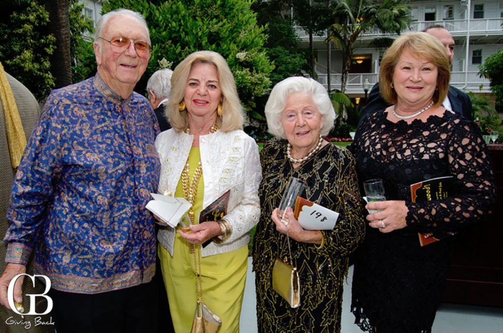Dick and Victory Lareau with Doris and Lora Heramb